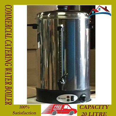New 20 Litre Commercial Catering Electric Urn Hot Water Boiler Tea Coffee