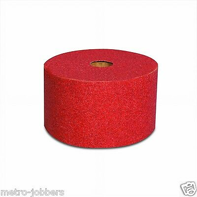 3M 1682 Red Abrasive Stikit Sheet Roll, 01682, 2 3/4 in x 25 yd, P320 320 Grit