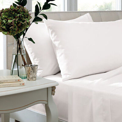 600 Thread Count 100% Egyptian Cotton Sateen, Fitted Bed Sheets, Fitted Sheets