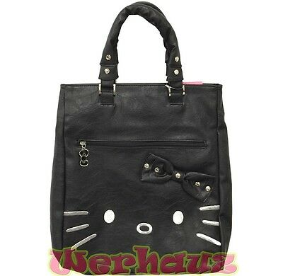 HELLO KITTY SHOULDER Tote Big Bag Zebra Kitty Design by Sanrio ... d7d22cd0b4