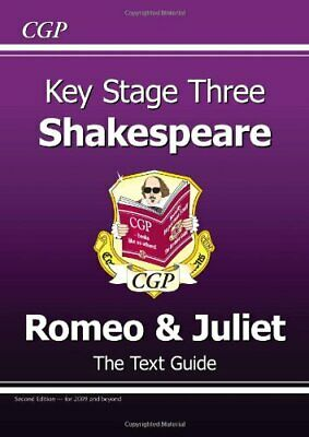 """KS3 English Shakespeare Text Guide - Romeo & Juliet: """"... by CGP Books Paperback"""