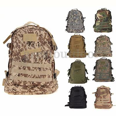New 40L 3D Outdoor Molle Tactical Rucksack Backpack Camping Hiking Bag