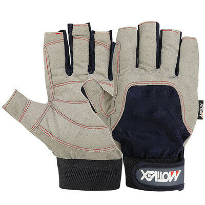 Sailing Glove Yachting Canoe Kayak Dinghy Rope WaterSki Outdoor Cut Finger M