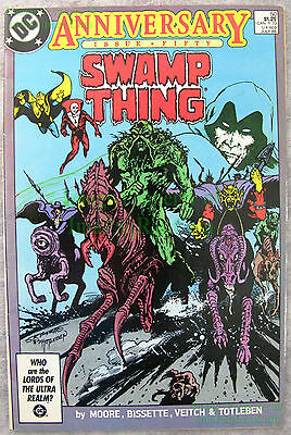 Swamp Thing #50 KEY 1st FULL Justice League Dark KEY Movie Coming! Very Nice!