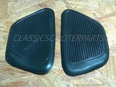 Honda SS50 1965 1966 gas fuel tank knee pads rubbers IMPERFECT PLEASE READ C0006
