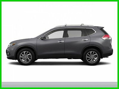Nissan : Rogue SL 2015 SL New 2.5L I4 16V Automatic All-wheel Drive SUV Moonroof Premium Bose