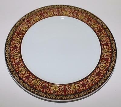 Rosenthal Versace MEDUSA Red Salad Plate, Excellent Condition