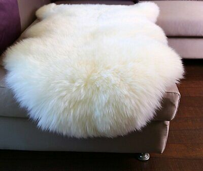 New White Sheepskin Whole, Long Wool Rug, multiple sizes, promotion!