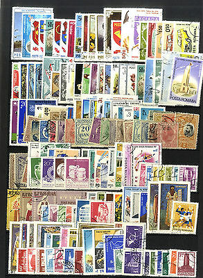 Lot 166  Timbres Roumanie