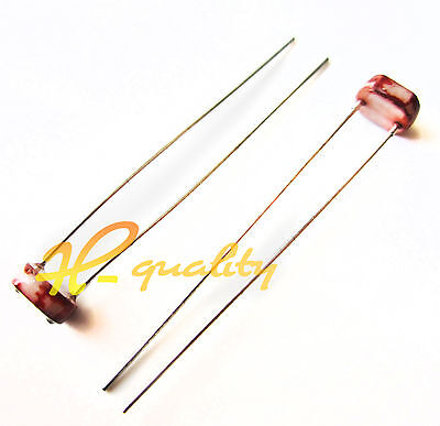 50pcs Photoresistor LDR CDS 5mm Light-Dependent Resistor Sensor GL5516 Arduino