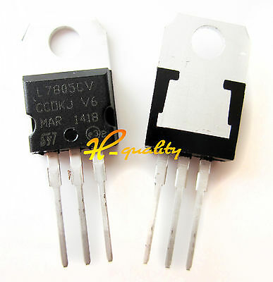 20pcs LM7805 L7805 7805 TO-220 Voltage Regulator IC new