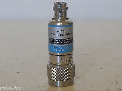 Hewlett Packard Coaxial Crystal Detector Model HP 423A  [W3C]