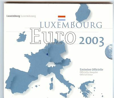 Original Euro Coin Set 2003 From Luxemburg In St