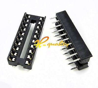 50PCS 20 Pin Integrated Circuit IC Sockets Adaptor Solder Type