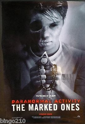 Paranormal Activity The Marked Ones Original 1 Sheet Poster Andrew Jacobs 2014