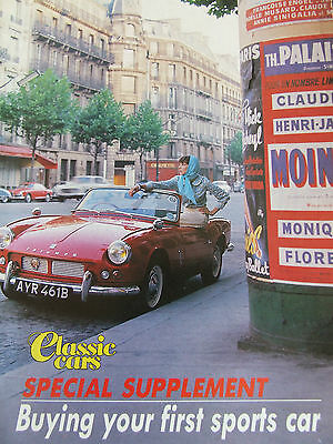 Classic Cars Supplement Magazine Apr 1991 Buying Your First Sports Car