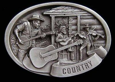 Country Music Scene Belt Buckle New Look! Buckles