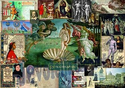 Puzzle Heye 1000 pz RENAISSANCE puzzle of the ages NUOVO