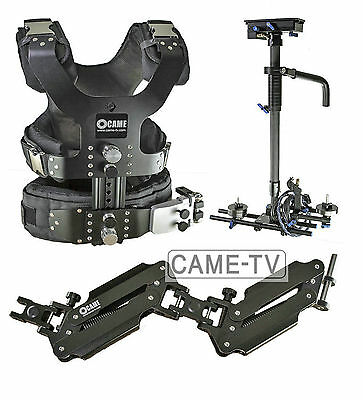 CAME 2.5-15kg Load Camera Steadicam Video Carbon Stabilizer + HDMI Connector