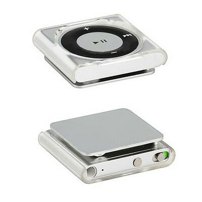 1x For iPod Shuffle 4 6 7 Transparent Hard Protective shell Case Cover