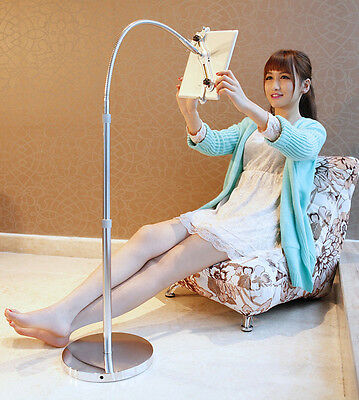 Flexible Long Arms Holder Desktop Bed Stand Mount for iPad 2 3 Samsung Tablet PC