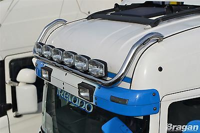 4/R/P/G/ 6 Series Scania Highline Cab Roof Light Bar + LED x7 + Oval Spots x6