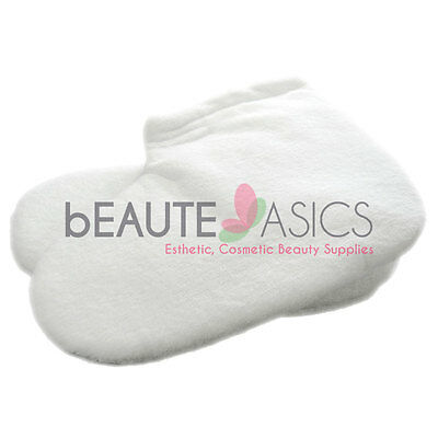 Terry Cloth Booties Paraffin Wax Foot Care Skin Care - #WA1025x1