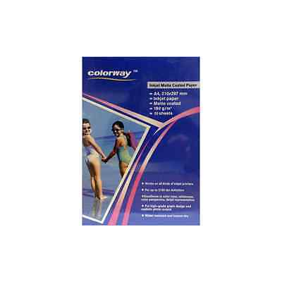 Colorway Matte Photo Paper A4 190g - 50 Sheets