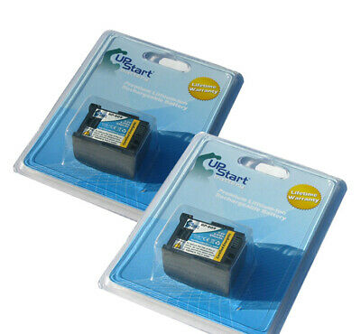 2x Battery for Canon VIXIA HF G20, HF G10, HF100, HG20, HF20, HF200, HF M400