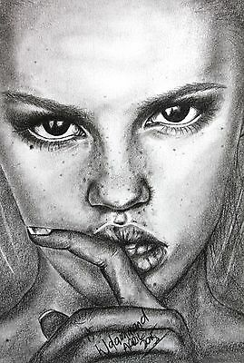 A4 graphite drawing acid free paper freckles 0415