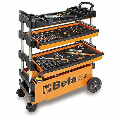 Beta Folding Portable Tool Transport Trolley/Rollcab For Outdoor Work Jobs- C27S