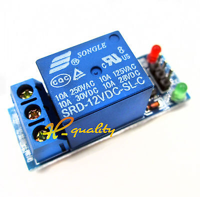 10pcs New 12V one 1 Channel Relay Module With optocoupler For PIC AVR DSP ARM