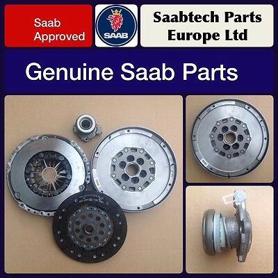 Genuine Saab 9-3 2008 - 2012 1.9 DTH 150BHP Dual Mass Flywheel,Clutch Slave