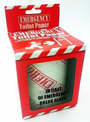 Emergency Toilet Paper Joke Fake Accessory Gift Novelty Party Bag Filler Funky
