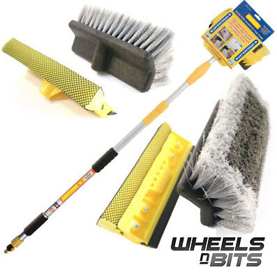 3M 9.8Ft Heavy Duty Deluxe  Extending Car Wash Brush Telescopix Ex Long Reach