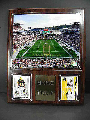 Pittsburgh Steelers Stadion Stadium Plaque,Holzbild,Wandbild,38 cm,NFL Football