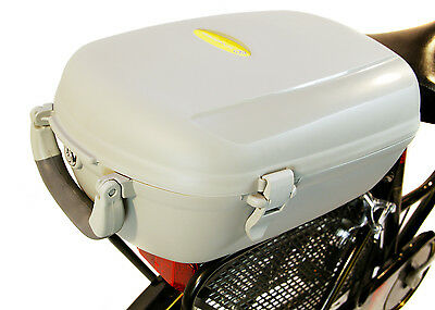 Bicycle Cargo Box Lockable Rear Carrier Top Box with handle RRP £39.99