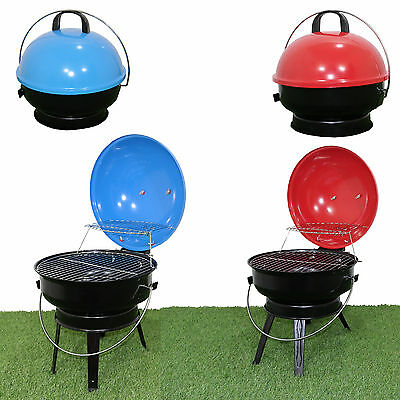 Camping Kettle BBQ Portable Charcoal Grill Barbecue Outdoor Garden Party Patio