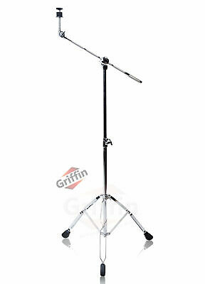 Cymbal Boom Stand By Griffin - Drum Hardware Arm Mount Holder Adapter Percussion