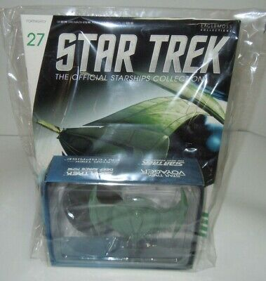 Star Trek Starships Collection Magazine 27 & Romulan Bird of Prey Ship New