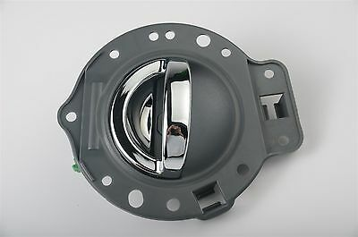 Gray & Chrome fits Jeep Commander 06-10 Inside Interior Door Handle Rear Left