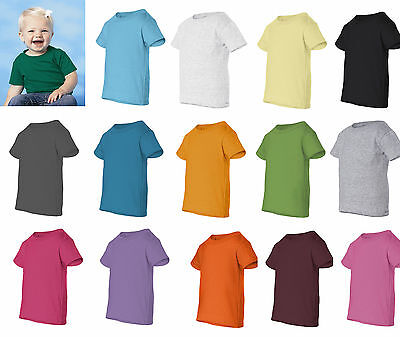 Rabbit Skins - Infant Short Sleeve T-Shirt Baby Shirts 6M 12M 18M 24M - 3401