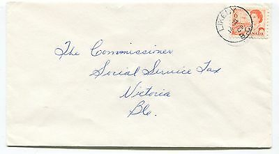 A077 Canada BC Likely 1969 CDS Cancel Cover to Victoria -
