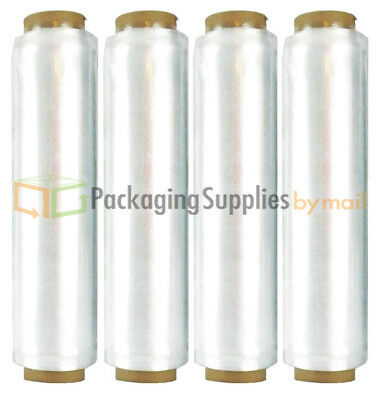 "(1 Roll) Hand Stretch Wrap Shrink Plastic Film Banding 18"" x 1476' 12 Micron"