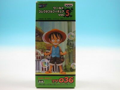 ONE PIECE World Collectible Monkey D Luffy Figure vol.5 TV36