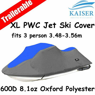 3 person 3.48m-3.56m PWC Jet Ski Cover suits Yamaha Kawasaki Seadoo Honda