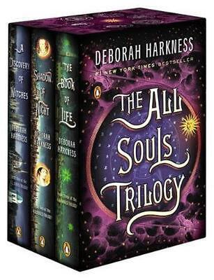 The All Souls Trilogy Boxed Set by Deborah Harkness (English) Paperback Book Fre
