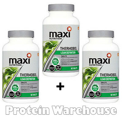 3 x 90 = 270 Tablets Maxinutrition Thermobol Fat Burner Lean Loss Maximuscle