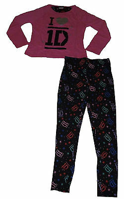 Girls Pyjamas One Direction  9 10 11 12 & 13 Years Old