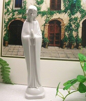 "Home Interiors HOMCO 9""  Praying Virgin Mary  MADONNA  Porcelain Statue Figurine"